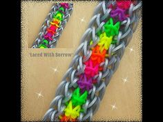 """New """"Laced With Sorrow"""" Hook Only Bracelet/How To Tutorial - YouTube"""