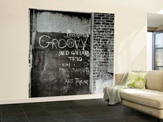 Red Garland - Groovy Wall Mural – Large at AllPosters.com