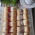 Biscuits Creusés a la Confiture