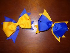 WVU Game Day Bows!