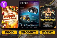 design MASTER Flyers within 12 hours by summydesigns