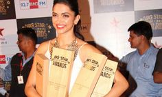Deepika Padukone bags three BIG Star Entertainment awards