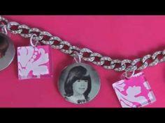 Learn How to Make a Photo Pendant Charm Bracelet - http://videos.silverjewelry.be/pendants/learn-how-to-make-a-photo-pendant-charm-bracelet/
