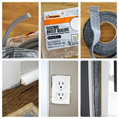 Simple, easy and inexpensive ways to keep your home warm. #DIY