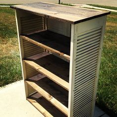 Against the Grain Furniture Repurposing & Design: Shutter Bookcases