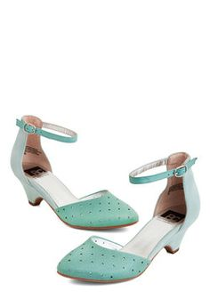 Gliding By Heel in Mint, BC Footwear, ModCloth