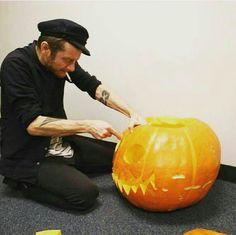 Jamie hewlett pumpkin