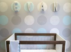 Project Nursery - DIY Studded Wall Letters - Project Nursery