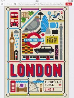 London cross stitch.