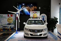More electric cars are sold in China than in the rest of the world combined, but are mainly locally-branded models that are cheaper and have a shorter range than those offered by foreign automakers such as Tesla and Nissan Big Oil, Self Driving, Electric Cars, Concept Cars, Nissan, Automobile, Things To Come, China, Rest