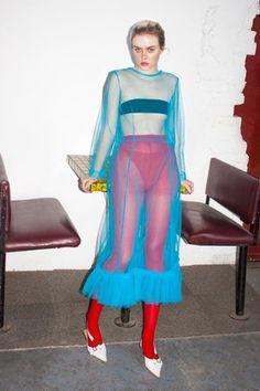 Multi layer tulle frills and hem on tulle zoey Foto Fashion, Fashion Art, Editorial Fashion, Runway Fashion, High Fashion, Fashion Looks, Fashion Outfits, Womens Fashion, Fashion Design