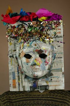 MASK MAKING DAY - My Alter-Ego Mask.