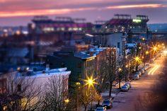 Baltimore's Federal Hill, Tilt-Shift
