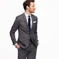 mr. lovely's wedding suit | Suits, Charcoal suit and Black tie
