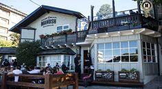 Distrito Cervecero en Bariloche Beer Street in Bariloche, Argentina