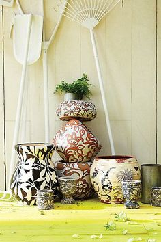 #Daylily #Herb #Pot #Anthropologie