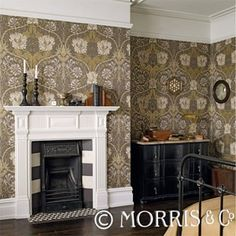 Morris & Co Wallpaper - Countrystyle