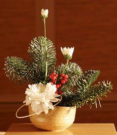 Японская новогодняя икебана