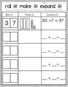math worksheet : place value worksheets for 2 and 3 digit numbers  free ways to  : Place Value Worksheets First Grade