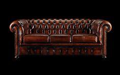 The original Chesterfield sofa