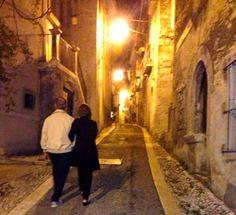 Via Roma di notte ~ Roma St. at night