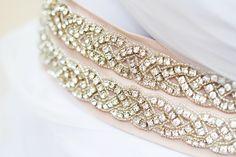 -Glitter N Glue Wedding DIY Bridal Embellished Belt, wedding dress belt, DIY… Wedding Belts, Wedding Sash, Bridal Belts, Dream Wedding, Diy Your Wedding, Handmade Wedding, Wedding Ideas, Embellished Belt, Rhinestone Belt