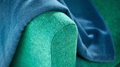 PANORAMA SOFA | RAUN A/S #detail #sofadesign #stineprang #danishdesign #sofa #fabric