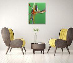 """#colorislife #peinture #painting #art #decoration #interiordesign """"Le rameau d'or"""" /'The Golden Bough'(c) Eliora Bousquet [Photo du décor (c) Pixabay] Bousquet, Decoration, Painting, Art, Paint A Table, Green Backgrounds, Decor, Art Background, Painting Art"""