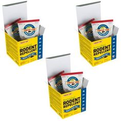 3 Pack – Earth Kind Fresh Cab Natural Botanical Rodent Repellant, Mouse Pouch   3 Pack - Earth Kind Fresh Cab Natural Botanical Rodent Repellant, Mouse Pouch  Fresh Cab keeps mice out of homes, cabins, basements, attics, garages, sheds and storage units. It protects stored vehicles, boats, RVs, ATVs, campers, snowmobiles and farm equipment. It repels mice from pet food, bird seed and livestock feed… just about anywhere mice like to get into.   Fresh Cab is the ONLY botanical rodent r..