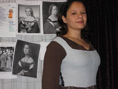 1520 Florentine Gown: Artemisia's step-by-step instructions (link is updated to her new site)