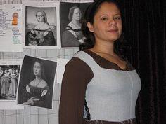 1520 Florentine Gown