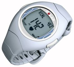 Instead of: The heart rate monitor on a large fitness machineUse: A heart rate monitor on your watch ($80 Polar F4 heart rate monitor at amazon.com).Size: A watch and a strap to wear around your torso.Expert says: Recent studies have found that the heart rate monitors and calorie counters on large machines such as treadmills aren't accurate, with some overestimating your stats by up to 42 percent. Since you're plugging in your specific data into your watch,...