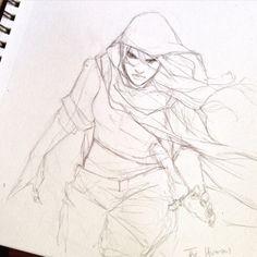 Character Sketch / Drawing