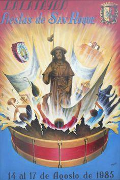 Fiestas San Roque Calatayud  1985