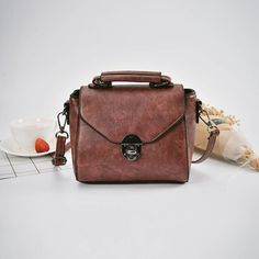 Women PU Leather Retro Style Crossbody Bag Messenger Bag is designer, see other popular bags on NewChic Mobile. Tote Purse, Hobo Bag, Crossbody Bag, Bag Packaging, Popular Bags, Little Bag, Cute Bags, Online Bags, Retro Fashion