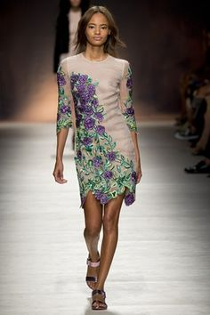 BLUMARINE  SPRING / SUMMER COLLECTION 2015 #EZONEFASHION