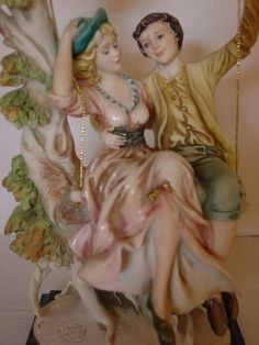 Italian figurine Capodimonte porcelain by myitaliandreams on Etsy, $280.00