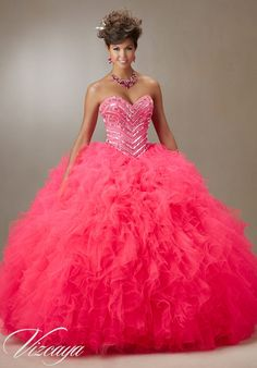 Quinceanera Dress Collection by Vizcaya of Mori Lee