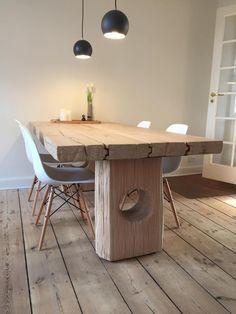 Plankebord med stole   Ibsen Wood Design