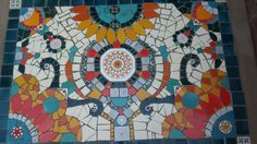 Alfombra en mosaico