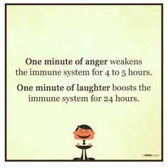 LAUGHTER is the best medicine! Not sure what studies were behind this #qotd from @themindunleashedofficial but I love it as it reminds me how important laughter is for both #bodyandsoul. It's really easy to get angry or frustrated but this has an impact on your #health and #wellbeing - anger increases blood pressure we often tighten muscles and there are so many other effects on our bodies. We can't control what happens to us but we can direct how we react. My #personaldevelopment and…