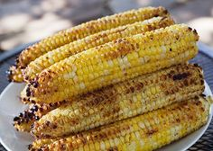 Grilled corn with chipotle lime butter is a great addition to any Labor Day party! http://labor-day.holidayscentral.com/food-and-recipes/grilled-corn-chipotle-lime-butter