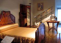 Art Nouveau bedroom by Louis Majorelle (ca. 1900) | by Sokleine
