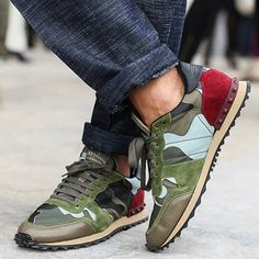 Camo Sneakers from Picsity.com
