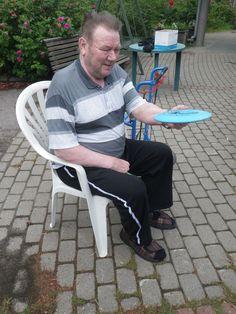 Frisbeegolfin kokeilua