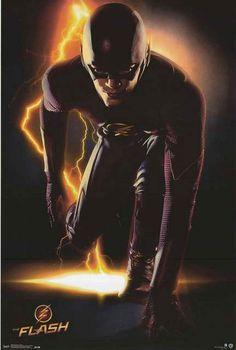 The Flash TV Show Portrait DC Comics Poster 22x34 – BananaRoad