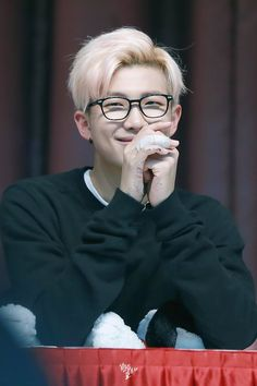 Open w/Namjoon)) I was in the library studying for some of my classes when you sit in front of me