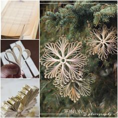 How to DIY Paper Book Snowflake Christmas Ornament | www.FabArtDIY.com