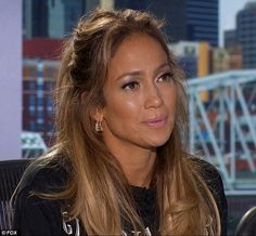 j lo's hair on american idol premiere 2015 | ... getting charmed by a handsome young farmer on American Idol premiere