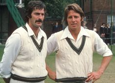 Australian fast bowling partnership Dennis Lillee and Jeff Thomson were the scourge of many an English test batsman in the 1970s.
